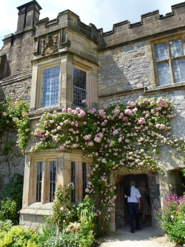 Haddon Hall is famous for its roses.