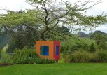 I loved the boldness of this Michael Smither 'playhouse' at Puketarata.